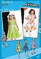 SIMPLICITY TODDLERS DRESSES-1/2-1-2-3 (並行輸入品)