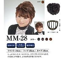 モグ ルピシオ MM-28 フロント14cm/トップ16cm/ネープ16cm 1B(自然色)