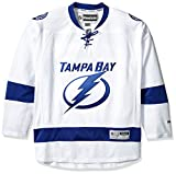 reebok ジャージ Tampa Bay Lightning Reebok Premier Replica Road NHLホッケージャージ–サイズXL
