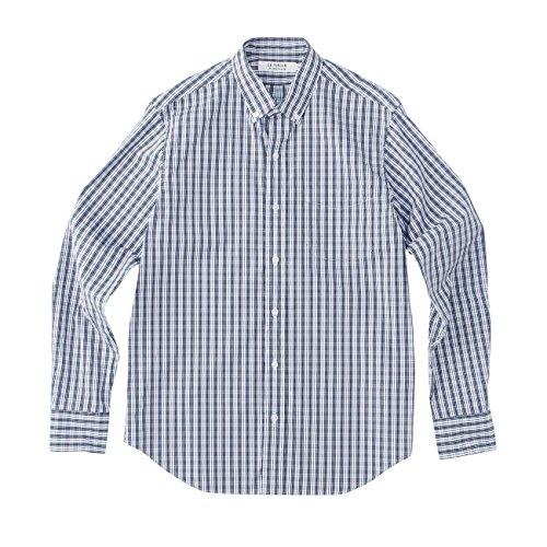 (ル ティロワ ドゥ ドレステリア)LE TiROiR de DRESSTERIOR ストライプボタンダウンシャツ ブルー系(294) 02(M)