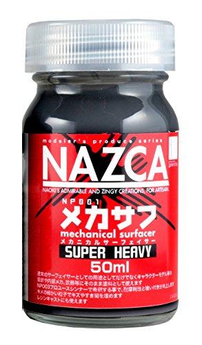 ガイアノーツ モデラーズプロデュース NAZCAシリーズ メカサフ スーパーへビィ 50ml 模型用塗料 NP005