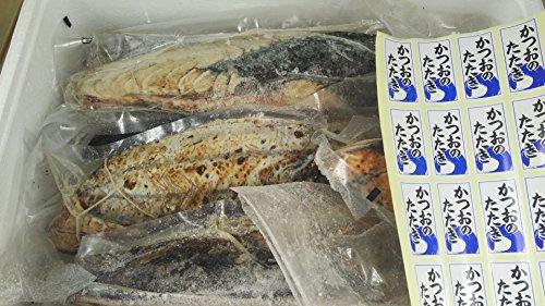 国産 ( 静岡県 焼津湾 ) 4.5 カツオタタキ 10kg 冷凍 刺身用 南 鰹 たたき 業務用