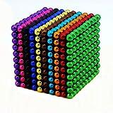 OBEST マグネットボール 1000個セット﹙5mm﹚ (十色タイプ)