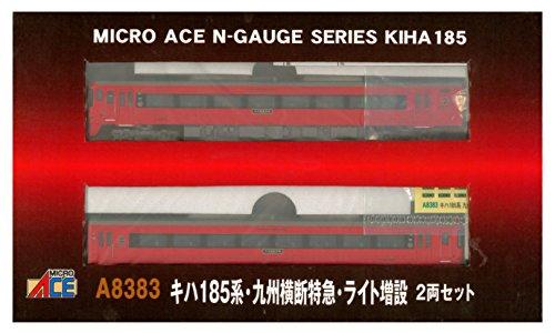 マイクロエース Nゲージ キハ185系 九州横断特急 ライト増設 2両 A8383 鉄道模型 ディーゼルカー