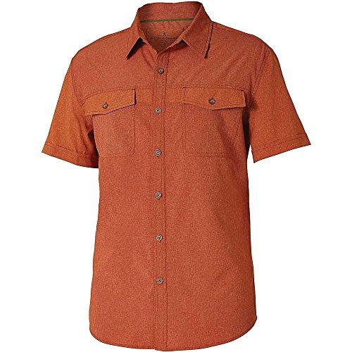 ロイヤルロビンズ トップス シャツ Royal Robbins Men's Diablo SS Shirt Cordwood e7c [並行輸入品]