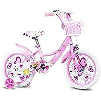 YANFEI 子ども用自転車 ピンクフェアリーバイクキッドバイク3?8歳の女の子が安定して安全に乗る 子供用ギフト