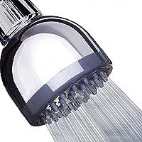 シャワーヘッド 高圧力ヘッド 高フロー3インチヘッド 取り外し可能水Restrictor  シャワーヘッド低水の圧力