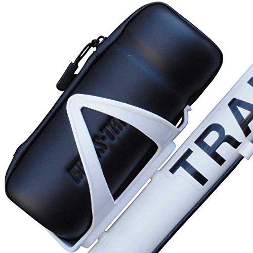 【KREIS-TAIL】 防水 ファスナー ジッパー ツールボトル ツール ケース ボトルケージに 自転車 工具入れ (Black)