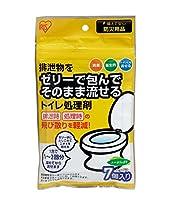 アイリスオーヤマ 防災グッズ トイレの処理剤 7包 TPS-7B