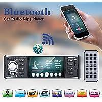 カーオーディオ DME-401 Bluetooth MP5 プレーヤー RDS FM AUX W /リモートUSB / TF 1 DIN HDスクリーン4.1インチ (A-2)