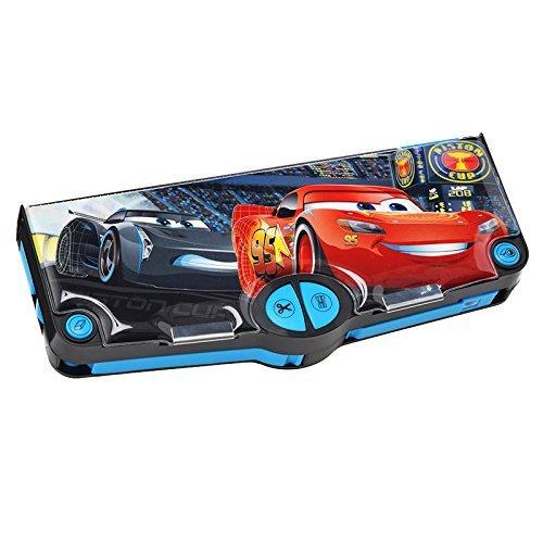 【ディズニー公式】Disney Cars 多機能 筆箱・ペンケース カーズ ライトニング・マックィーン/ジャクソン・...