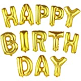 13pcs /セット HAPPY BIRTHDAY アルミ ホイル バルーン インフレータブル おもちゃ パーティーバルーン 装飾