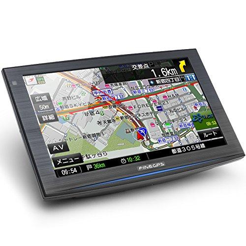 【秋セール】ポータブルカーナビ ゼンリン地図搭載(地図2回更新無料) 大容量32GB 7インチ FineGPS(ファインGPS) iQ 7000