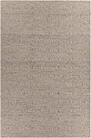 Chandra Rugs Crest Area Rug 93-Inch by 126-Inch Light Brown/Beige [並行輸入品]