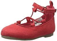carter's Cara-C Girl's Flat Red 7 M US Toddler [並行輸入品]