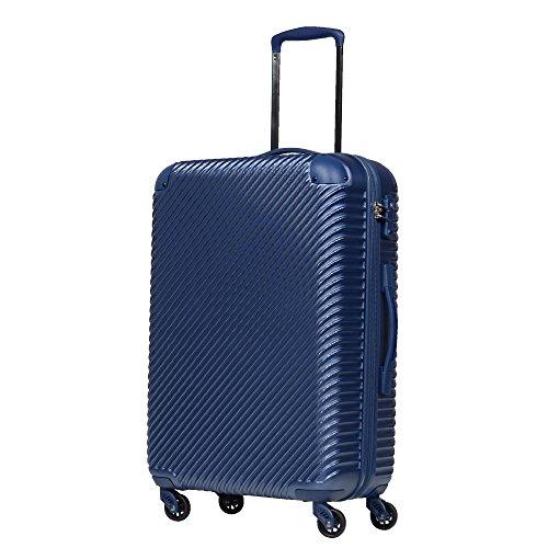 S型 ネイビーブルー/ABS7352(tilt) TSAロック搭載 スーツケース キャリーバッグ (1~3日用) 超軽量 機内持込 国内/国際線持込可能