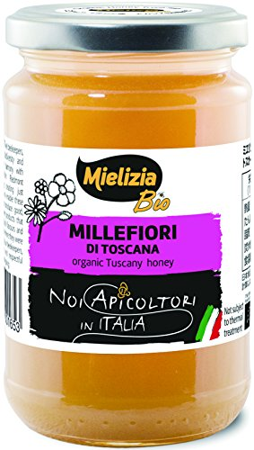 Mielizia(ミエリツィア) トスカーナの有機ハチミツ 400g