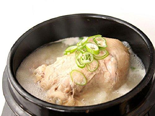 大東園 サムゲタン丸鶏とお粥セット(カクテキ付) 丸鶏1400g×1、粥280g×4