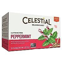 Celestial Seasonings CELESTIAL調味料ハーブティー、ペパーミント、20 BAG