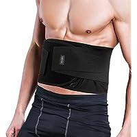 TOQIBO 腰サポーター 腰痛ベルト コルセット スポーツ 腰用サポーター メッシュ薄型 腰椎固定 ぎっくり腰対策 Mサイズ