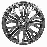 SPARCO-CORSA ホイールカバー15インチ Leggera グレー/ブラック SPC1555L_J