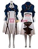 【Cos-Show】ヴァイオレット・エヴァーガーデン 風 コスプレ衣装 (修正版) (オーダーサイズ製作可能) (女M)