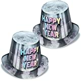 Club 25パックDisco Fever Happy New Year Party hi- Hats