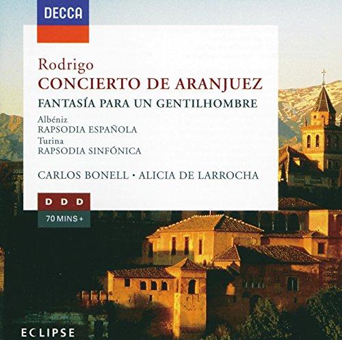 ロドリーゴ:アランフエス協奏曲/ある貴紳のための幻想曲
