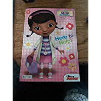 Doc McStuffins Here to Help Big Fun book to colour