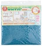 ワタナベ工業 国産タイルカーペット 吸着ぴたマット9枚組 30X30cm ブルー