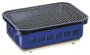 キャプテンスタッグ バーベキュー カルネ角型水冷卓上 バーベキューコンロ [1~2人用] M-6449