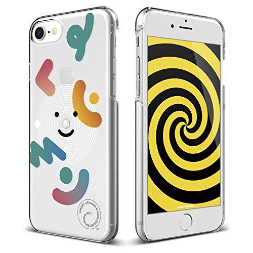iPhone8 / iPhone7 ケース elago Smart Spinner [ iPhoneがスピナーに大変身 !? まるで ハンドスピナー !? ] おもしろ デザイン カバー [ iPhone8ケース / iPhone7ケース ] ユキ