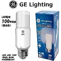 GE LED電球 E26 100W形 T形 昼白色 1520lm 全方向 LDT16N-G (昼白色, 100W)