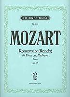 MOZART - Rondo (K.371) en Mib Mayor para Trompa y Piano (Kling)