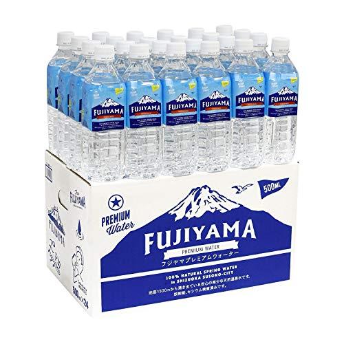 富士山の健康美容温泉水 天然アルカリ ペット 500ml×24本