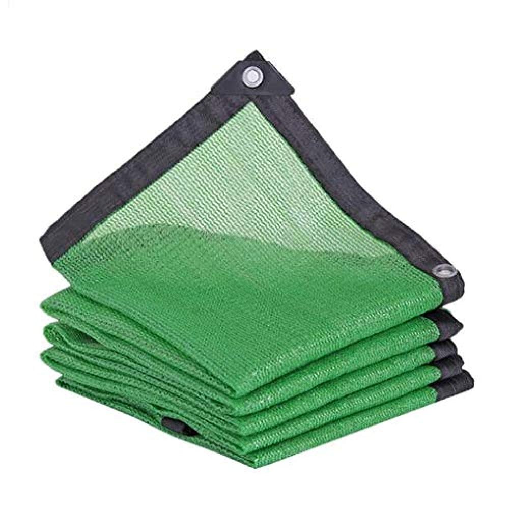 クリック真っ逆さま部DALL 日焼け止め布 屋外ガーデン バルコニーパティオ 日焼け止め絶縁 UV耐性 温室 植物カバー (Color : Green, Size : 4×4m)