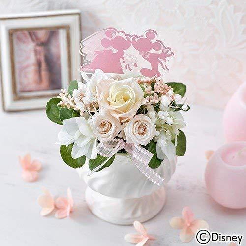 ディズニー プリザーブド&アーティフィシャルアレンジメント「ミッキー&ミニー HAPPY WEDDING」 日比谷花壇