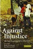 Against Injustice: The New Economics of Amartya Sen