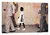 iCanvasART The Problem We All Live (Ruby Bridges) Canvas Print 18 x 12 [並行輸入品]