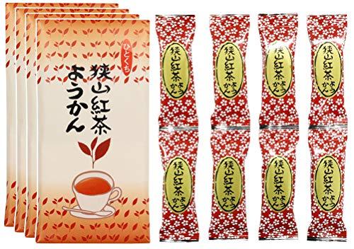 一口ようかん 紅茶ようかん 羊羹 8個入 × 4セット
