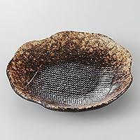 黄砂 花型取皿 [ 15.7 x 3cm 245g ] 【 取皿 】 【 料亭 旅館 和食器 飲食店 業務用 】