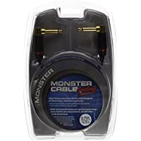 Monster Cable M BASS2-0.75DA Monster Bass2 Series ベースギター用パッチケーブル/ プラグ L-L /ケーブル長:約22cm