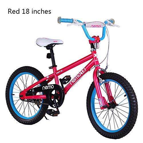ROCKBROS(ロックブロス) 子供用 自転車 かわいい 18インチ男の子にも女の子にも! 安心の...