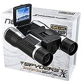 スパイダーズX 双眼鏡型カメラ 小型カメラ スパイカメラ (PR-805)