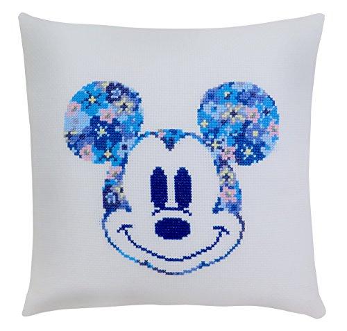 ディズニー 刺繍キット オリムパス ミニクッション ミッキーマウス /No.6048 [刺しゅうキット/ししゅう/ク