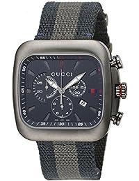 [グッチ]GUCCI 腕時計 グッチク-ペ ブルー文字盤 クロノグラフ YA131203 メンズ 【並行輸入品】
