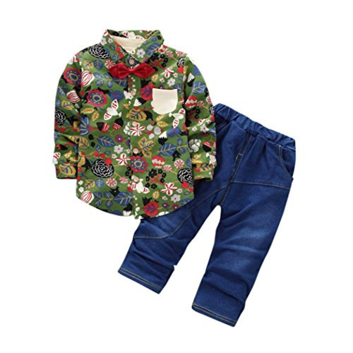 男の子 ベビー服  Karchi 2点セット  Tシャツ+ジ...