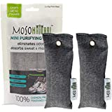 MOSO NATURAL Air Purifying Bag, MB3979, Charcoal, 1-Pack (2 Total)