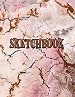 Sketchbook: Notebook for Sketching, Doodling, Painting, Drawing or Writing 8.5 x 11 100 Pages, 8.5 x 11 (Pretty Cute Abstract Cover Vol. 29) (Jolly Pockets Sketchbooks)