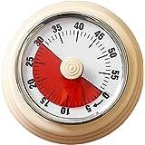 タイマー 60分 機械式 勉強 スクールタイマー 時間管理ツール 操作簡単 キッチンタイマー 子供 調 理時計 アラーム 幼児教育 学習用